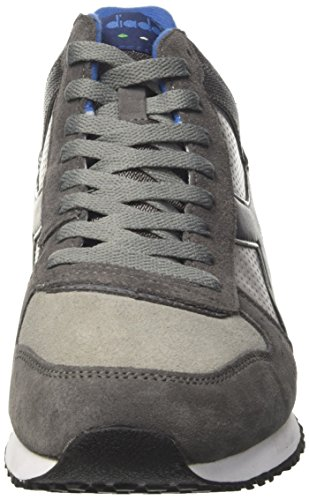 Diadora Malone Mid S, Sneakers Basses Homme Gris (Grigio Paloma)