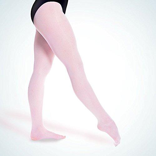 "RUMPF Ballettstrumpfhose ""Elastic"" Ballett Hose Strumpfhose Gr 36-38 rosé"
