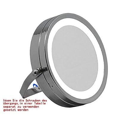 LOYWE LED Beleuchtet wunderschöne Kosmetikspiegel 1+10 LWW54-10