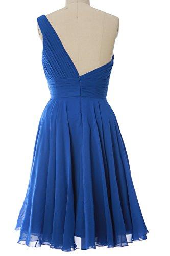 MACloth - Robe - Asymétrique - Sans Manche - Femme Bleu - Aqua