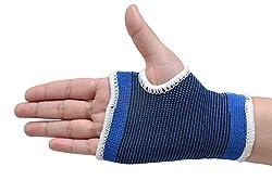 AARA NET Palm Hand and Wrist Braces (Blue)