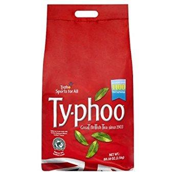 Typhoo Tea One Cup Teabags (Pack of 2, Total 2200 Teabags)