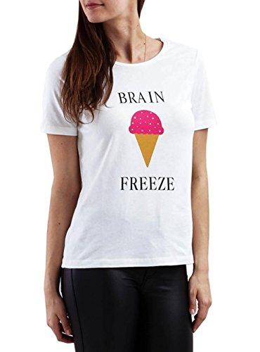 Vila Shirt Vilovina Frezze Bianco