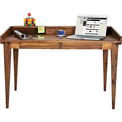 Kare Design – Bureau authentico Lady Secrétaire, Bois, Marron, 118 x 70 cm
