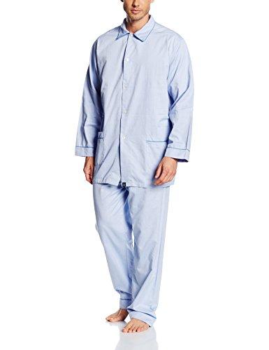 Arthur Pilou, Ensemble de Pyjama Homme, Bleu, X-Large (Taille Fabricant: XL)