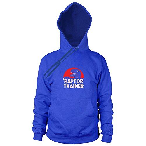 Raptor Trainer - Herren Hooded Sweater, Größe: XXL, Farbe: blau