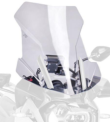 Puig 6486W - Parabrezza per moto da turismo, misura media, trasparent