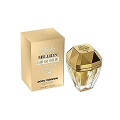 Idea Regalo - Paco Rabanne, Lady Million Eau My Gold Eau de Toilette, Donna, 50 ml