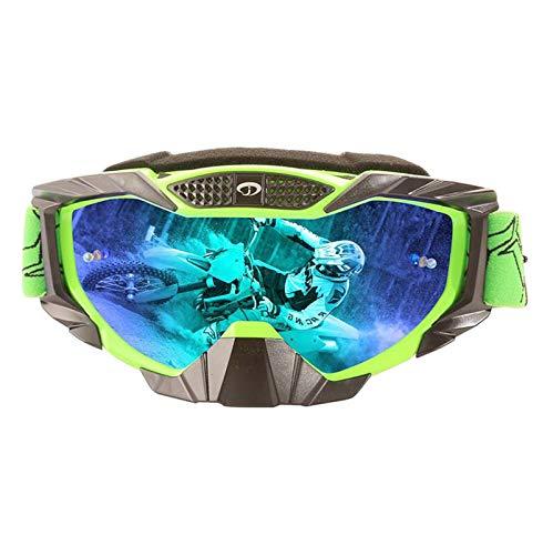 KnBoB Skibrille Damen Für Brillenträger Motorradbrillen Band Sportsonnenbrille Herren D