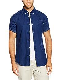 JACK & JONES Jorindigo Shirt S/S, Camisa para Hombre
