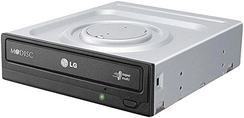 LG GH24NSD1.AUAA10B interner DVD-Brenner, 24x, SATA, schwarz (Dvd-brenner Intern Lightscribe)