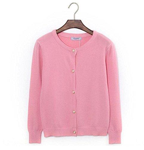 perle schnalle strickjacke kaschmir retro frauen knit beiläufige hohle bluse pullover lose tops langarm sport schlank jumpe kurzmantel . (Tumblr Kaninchen Kostüm)