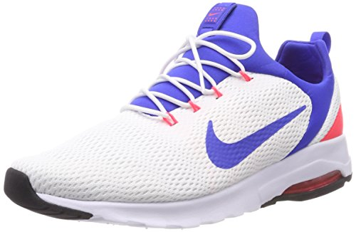 86ffdbeccb86d Nike Air MAX Motion Racer, Zapatillas de Gimnasia para Hombre, Blanco  (Whiteultramarinesolar Re D O F 100), 42.5 EU
