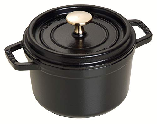 STAUB Runde Cocotte 0.5-quart matte black