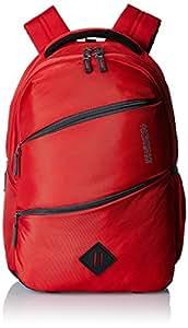 American Tourister 26 Lts Encarta Red Laptop Backpack (Encarta 02_8901836132908)