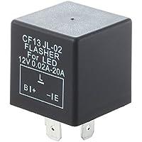 MagiDeal Auto Rel/è Lampeggiatore 24v 180w 3pin Lampeggio Indicatore Elettronico