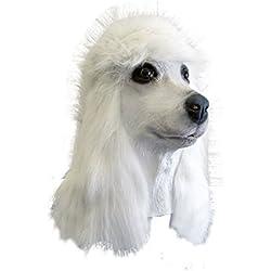 Antifaz de perro Caniche Francés.