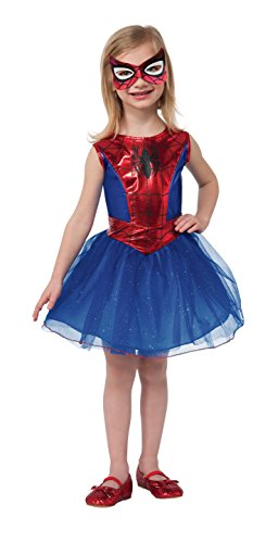 Rubie's Marvel Universe Classic Collection Spider-Girl Costume, Child Medium by Rubie's