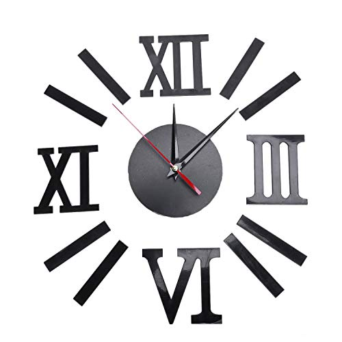 Cikuso Reloj Pared Romano Interior DIY Moderno Reloj
