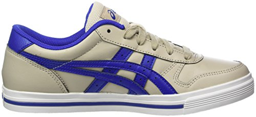 Asics Aaron, Sneakers Basses Mixte Adulte Gris (Feather Grey / Asics Blue)