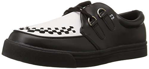 T.U.K.2 Ring Creeper - Sneaker unisex adulto, colore nero (black with black bones), taglia 40