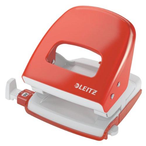 leitz-50080020-locher-30-blatt-anschlagschiene-mit-formatvorgaben-metall-nexxt-hellrot