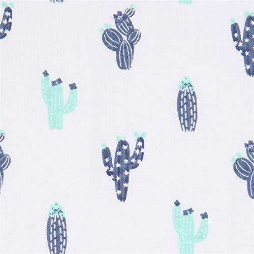 Timeless Treasures Tissu avec des Plantes, des Cactus