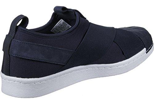 adidas Superstar Slipon, Sneaker a Collo Basso Unisex – Adulto vari colori (Maruni / Maruni / Ftwbla)