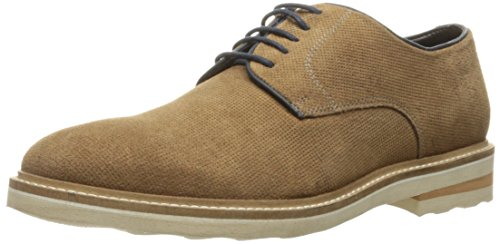Steve Madden Men's Horten Oxford, Tan Suede, 9 M US - Steve Oxford Madden