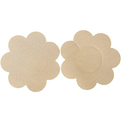 Ayliss 10Pairs Flower Shape Self Adhesive Pasties Disposable Nipple Cover Sticker 4Colors