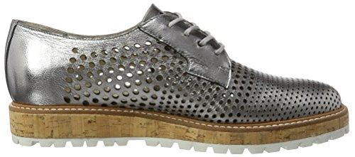 Marc Shoes Damen Naomi Derbys Silber (Darksilver)