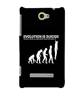 EPICCASE Evolution case Mobile Back Case Cover For HTC One Max (Designer Case)