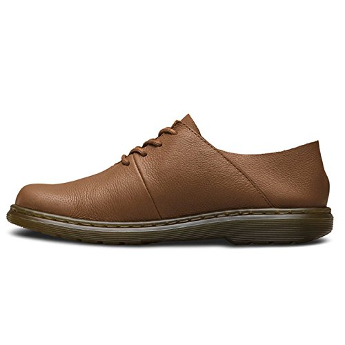 Dr.Martens Womens Lorrie II Virginia Leather Shoes Brown