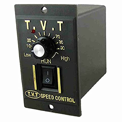 Move&Moving(TM) AC 220V Input Panel Mount DC Motor Speed Controller Switch 24V