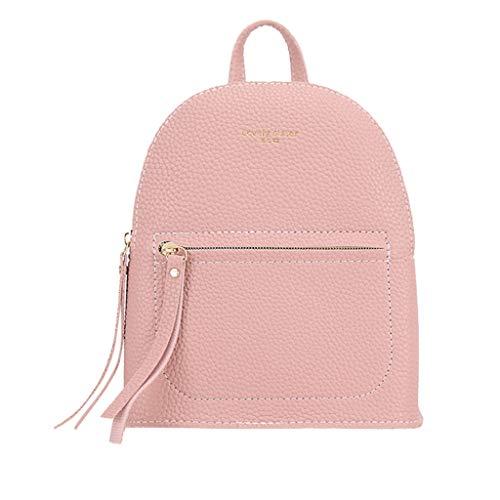 Rifuli® Damen Taschen Handtaschen umhängetasche Rucksäcke Mode Dame Schultern Kleiner Rucksack Brief Geldbörse Handy Messenger Bag0513#035