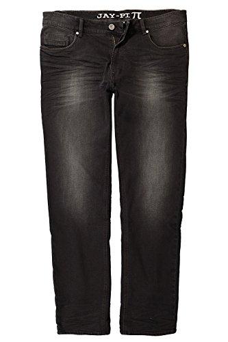 JP 1880 Herren große Größen bis 66, Jeans, Hose, Tapered, Denim, Loose Fit, 5-Pocket-Form, Normale Leibhöhe Black Denim 31 717031 11-31
