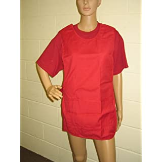 Tabards in a choice of 6 colours and 5 sizes, 35% cotton/65% polyester, Only £5.99 each plus P&P (Red, Xtra Large 44/46 inches)