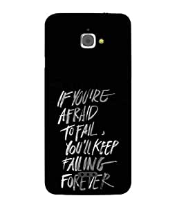 Snapdilla Designer Back Case Cover for InFocus M350 (Greeting Design Backcover Wallpaper Idea Handwriting Write Communication)
