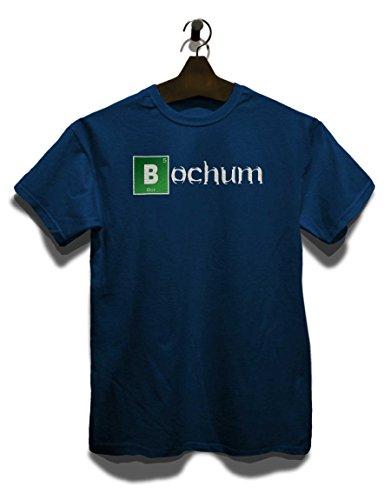 Bochum T-Shirt Navy Blau