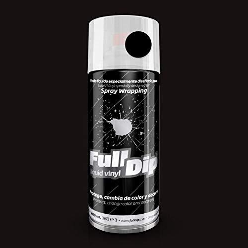 Pintura spray Full Dip Negro mate