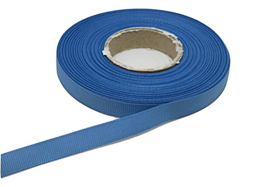 Beautiful Ribbon 2 mètres x Ruban de 10mm Gros-Grain Bleu Clair Bleuet Double Face Grosgrain nervuré 10 mm