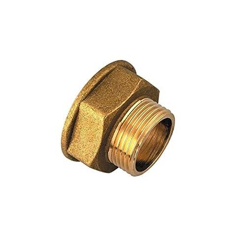 Réduction Femelle / Mâle Raccords laiton - Filetage 26 x 34 mm - 20 x 27 mm - Vendu par 1
