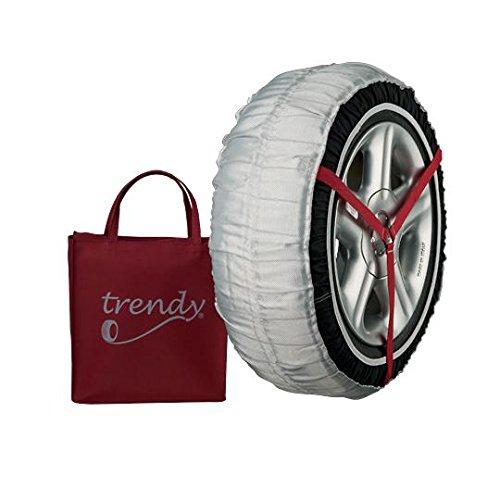 Trendy TRENDY 44-L Funda de Tela para Nieve y Hielo Neumáticos de Turismo, Furgoneta, 4 x 6