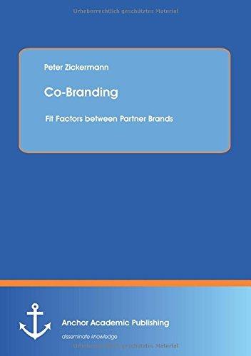 Co-Branding: Fit Factors between Partner Brands by Peter Zickermann (2014-09-26)