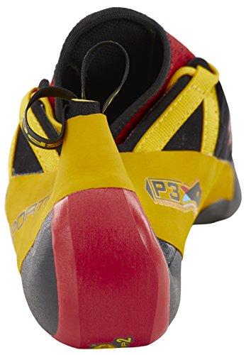 La Sportiva Homme Chaussures d'escalade Rouge, jaune