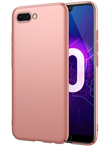 EIISSION Huawei Honor 10 Hülle, Hardcase Ultra Dünn Huawei Honor 10 Schutzhülle aus Hart-PC Case Cover Handyhülle für Huawei Honor 10,Rose Gold