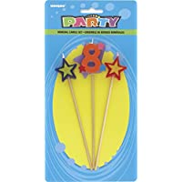 Number Birthday Candle Party Supplies