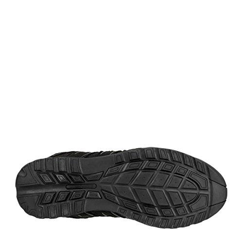 Amblers Safety - Sandales Compensées Pour Hommes Noires