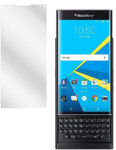 dipos I 2x Schutzfolie klar passend für Blackberry Priv Folie Bildschirmschutzfolie