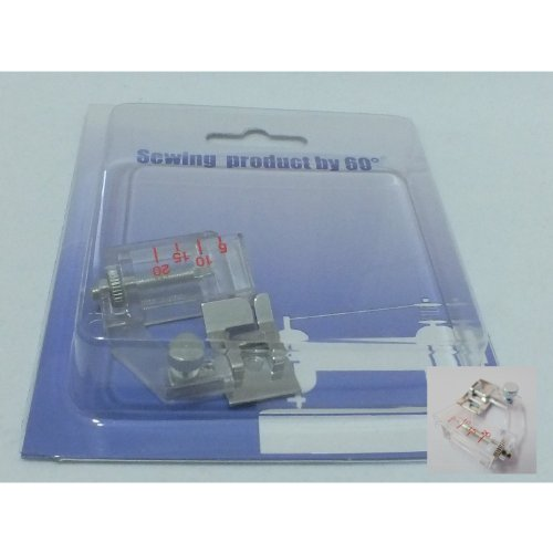 Kompatibel Verstellbare Bindung 60° Nähfuß für Nähmaschine, ®